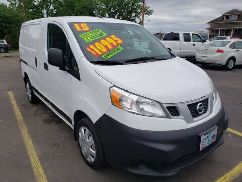 2015 Nissan NV200 for sale at Low Price Auto and Truck Sales, LLC in Salem OR