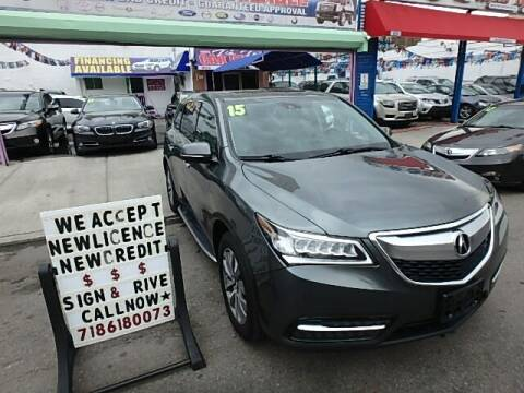2015 Acura MDX for sale at Cedano Auto Mall Inc in Bronx NY