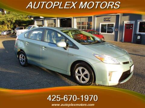 2014 Toyota Prius for sale at Autoplex Motors in Lynnwood WA