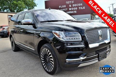 2018 Lincoln Navigator L for sale at LAKESIDE MOTORS, INC. in Sachse TX