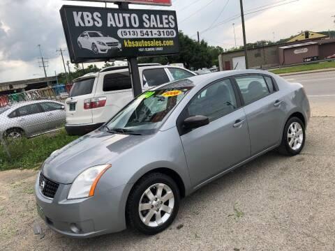 2008 Nissan Sentra for sale at KBS Auto Sales in Cincinnati OH