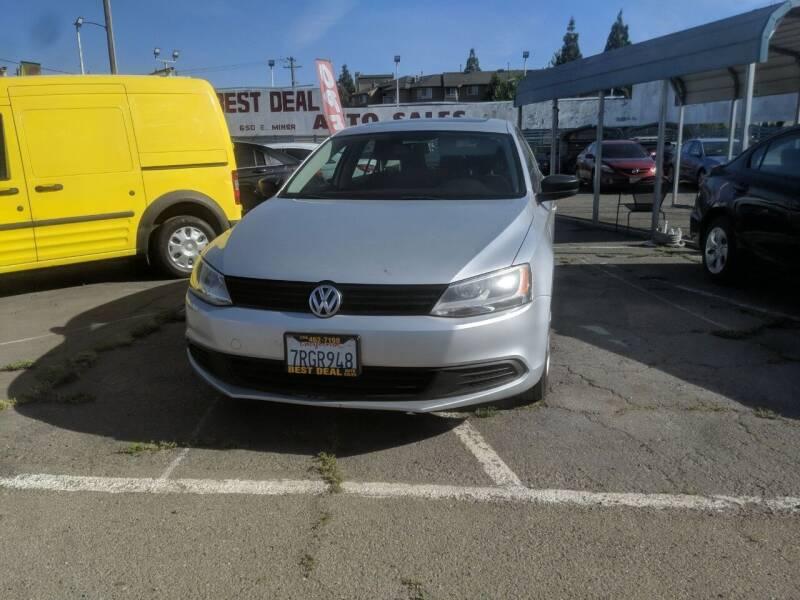 2012 Volkswagen Jetta for sale at Best Deal Auto Sales in Stockton CA