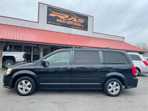 2012 Dodge Grand Caravan for sale at Ridley Auto Sales, Inc. in White Pine TN