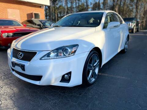 2012 Lexus IS 350 for sale at Magic Motors Inc. in Snellville GA
