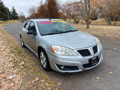 2010 Pontiac G6 for sale at BELOW BOOK AUTO SALES in Idaho Falls ID
