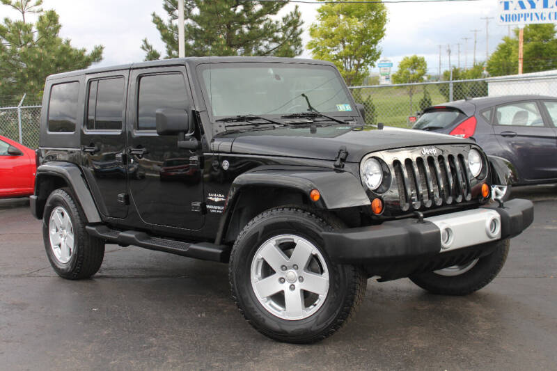 2007 Jeep Wrangler Unlimited for sale at Dan Paroby Auto Sales in Scranton PA