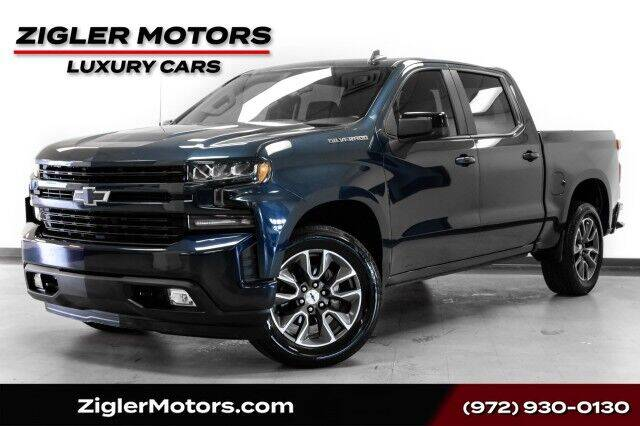 2019 Chevrolet Silverado 1500 for sale at Zigler Motors in Addison TX