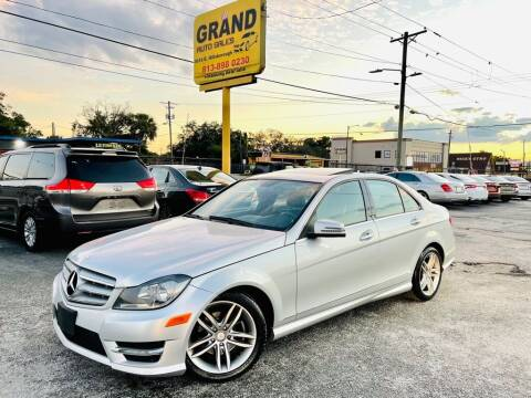 2012 Mercedes-Benz C-Class for sale at Grand Auto Sales in Tampa FL