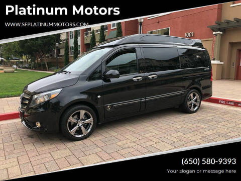 2016 Mercedes-Benz Metris for sale at Platinum Motors in San Bruno CA