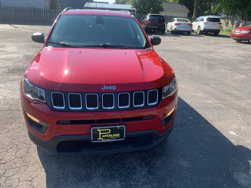 2018 Jeep Compass for sale at PAPERLAND MOTORS - Fresh Inventory in Green Bay WI