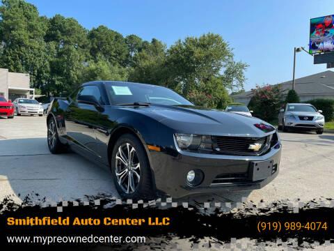 2012 Chevrolet Camaro for sale at Smithfield Auto Center LLC in Smithfield NC