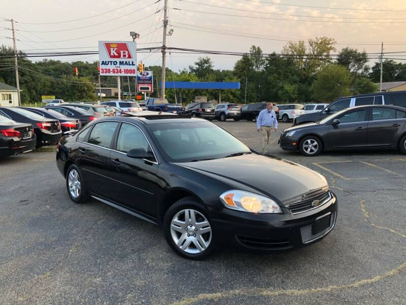 2012 Chevrolet Impala for sale at KB Auto Mall LLC in Akron OH