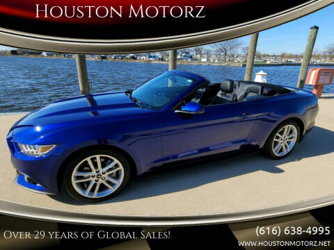 2016 Ford Mustang for sale at Houston Motorz in Nunica MI