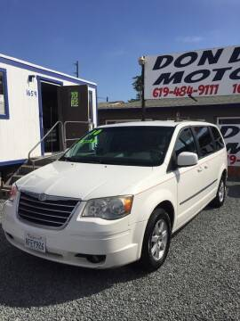 2010 Chrysler Town and Country for sale at DON DIAZ MOTORS in San Diego CA