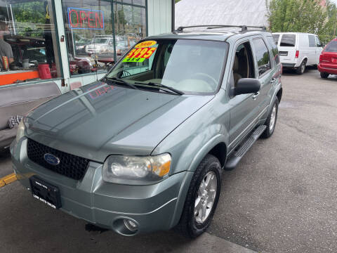2006 Ford Escape for sale at Low Auto Sales in Sedro Woolley WA