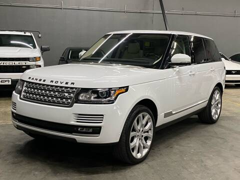 2015 Land Rover Range Rover for sale at EA Motorgroup in Austin TX