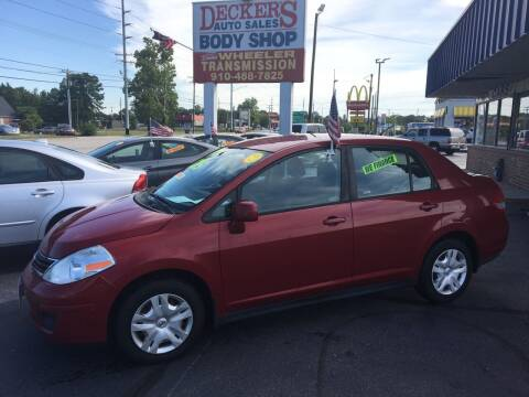 2010 Nissan Versa for sale at Deckers Auto Sales Inc in Fayetteville NC
