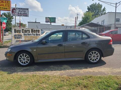 2005 Saab 9-3 for sale at Cherokee Auto Sales in Knoxville TN