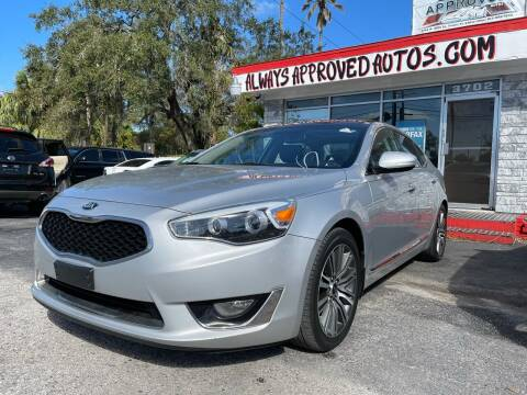 2016 Kia Cadenza for sale at Always Approved Autos in Tampa FL