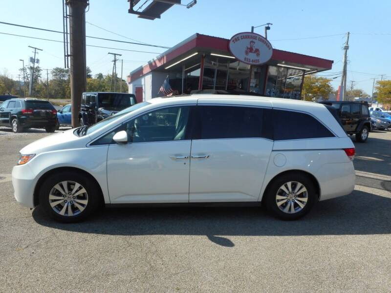 2017 Honda Odyssey for sale at The Carriage Company in Lancaster OH