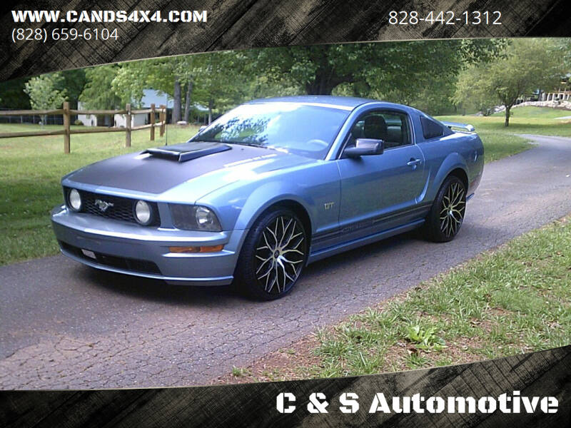 2005 Ford Mustang for sale at C & S Automotive in Nebo NC