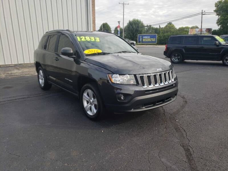 2016 Jeep Compass for sale at Used Car Factory Sales & Service Troy in Troy OH