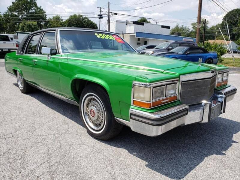 1988 Cadillac Brougham for sale at Ginters Auto Sales in Camp Hill PA