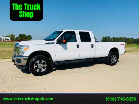 2015 Ford F-350 Super Duty for sale at The Truck Shop in Okemah OK