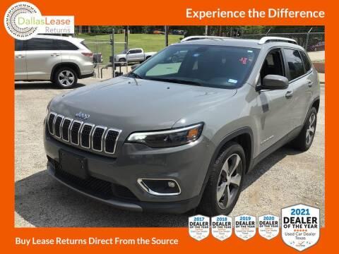 2019 Jeep Cherokee for sale at Dallas Auto Finance in Dallas TX