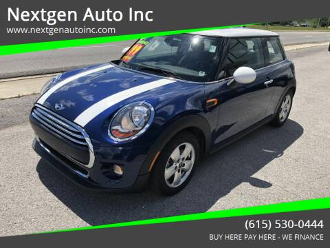 2015 MINI Hardtop 2 Door for sale at Nextgen Auto Inc in Smithville TN