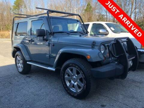 2014 Jeep Wrangler for sale at Brandon Reeves Auto World in Monroe NC