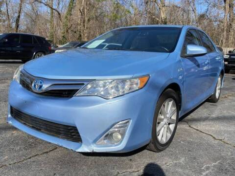 2012 Toyota Camry Hybrid for sale at Atlanta's Best Auto Brokers in Marietta GA