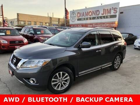 2014 Nissan Pathfinder for sale at Diamond Jim's West Allis in West Allis WI