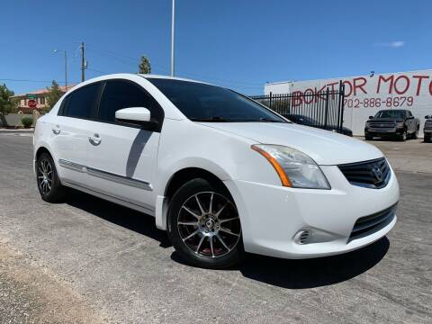 2011 Nissan Sentra for sale at Boktor Motors in Las Vegas NV
