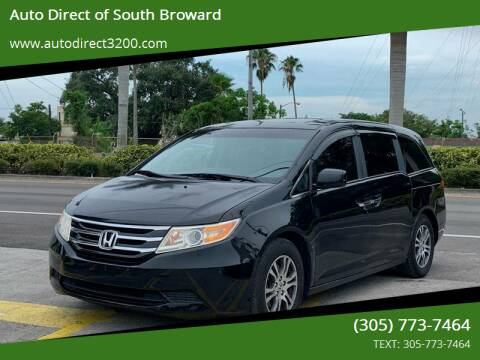 2012 Honda Odyssey for sale at Auto Direct of South Broward in Miramar FL