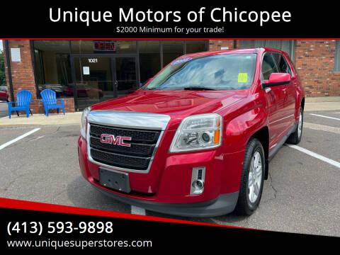 2015 GMC Terrain for sale at Unique Motors of Chicopee in Chicopee MA