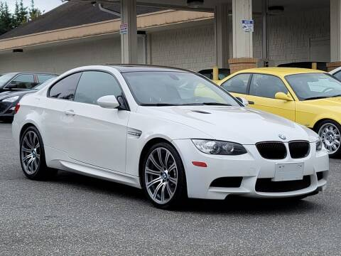 2011 BMW M3 for sale at SEATTLE FINEST MOTORS in Lynnwood WA