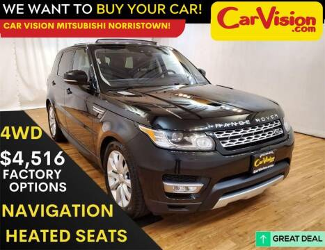 2017 Land Rover Range Rover Sport for sale at Car Vision Mitsubishi Norristown in Norristown PA