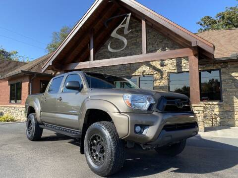 2013 Toyota Tacoma for sale at Auto Solutions in Maryville TN