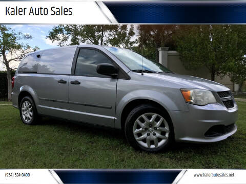 2014 RAM C/V for sale at Kaler Auto Sales in Wilton Manors FL