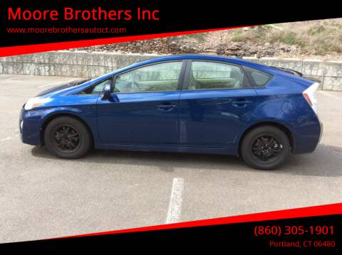 2010 Toyota Prius for sale at Moore Brothers Inc in Portland CT