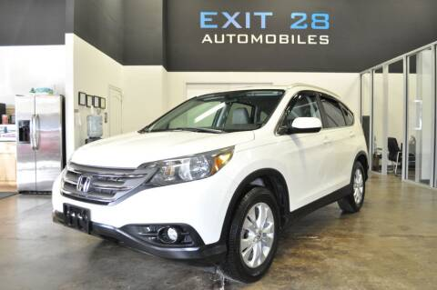 2012 Honda CR-V for sale at Exit 28 Auto Center LLC in Cornelius NC