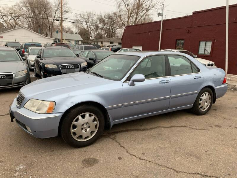 2003 Acura RL for sale at B Quality Auto Check in Englewood CO