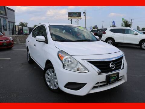 2017 Nissan Versa for sale at AUTO POINT USED CARS in Rosedale MD