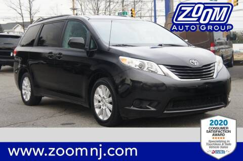 2011 Toyota Sienna for sale at Zoom Auto Group in Parsippany NJ
