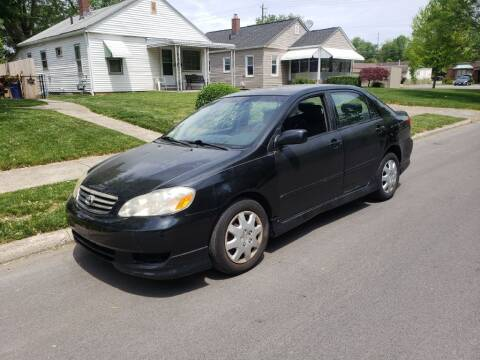 2003 Toyota Corolla for sale at REM Motors in Columbus OH