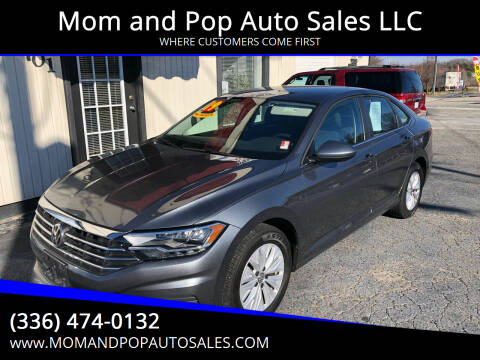 2019 Volkswagen Jetta for sale at Mom and Pop Auto Sales LLC in Thomasville NC