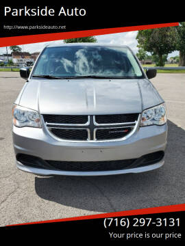 2013 Dodge Grand Caravan for sale at Parkside Auto in Niagara Falls NY