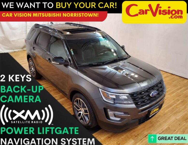 2016 Ford Explorer for sale at Car Vision Mitsubishi Norristown in Trooper PA