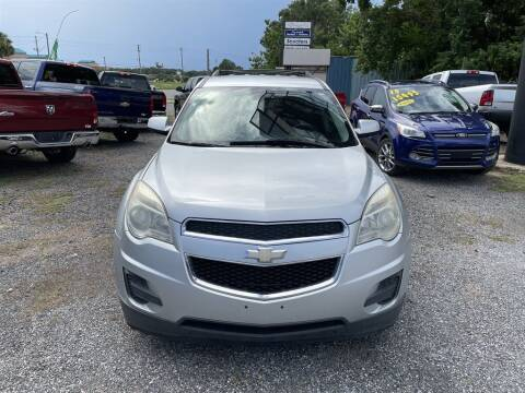 2013 Chevrolet Equinox for sale at THE COLISEUM MOTORS in Pensacola FL